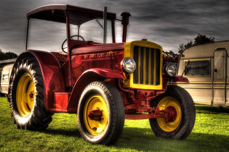 Hvornår er en traktor veteran?